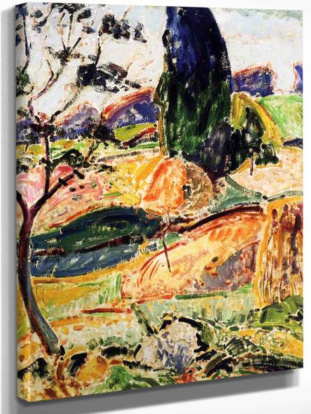 Landscape15 By Alfred Henry Maurer By Alfred Henry Maurer