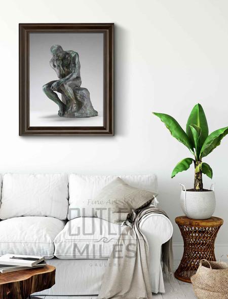 Le Penseur  3 By Auguste Rodin