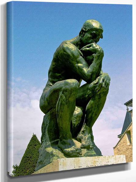 Le Penseur  By Auguste Rodin