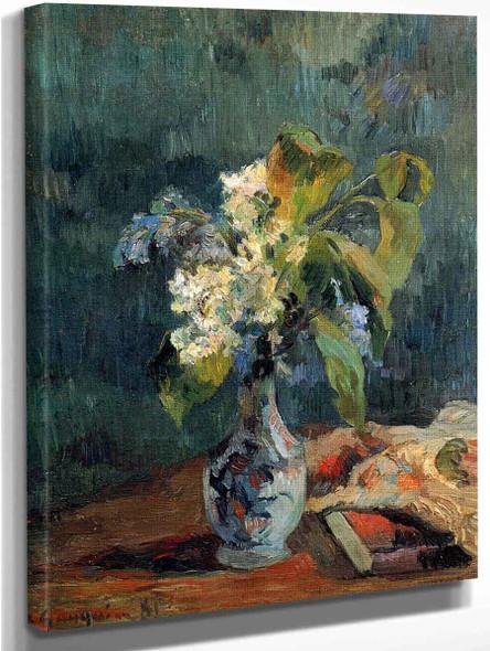 Lilac Bouquet By Paul Gauguin