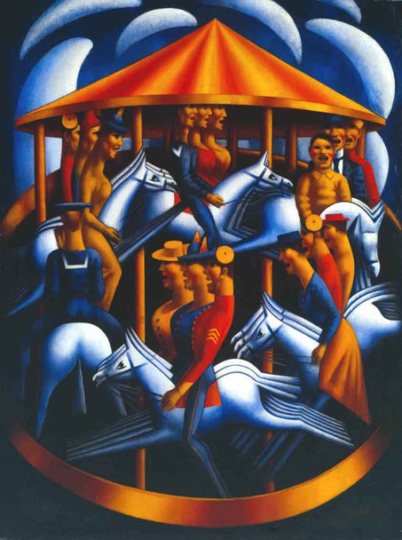 Merry Go Round By Mark Gertler