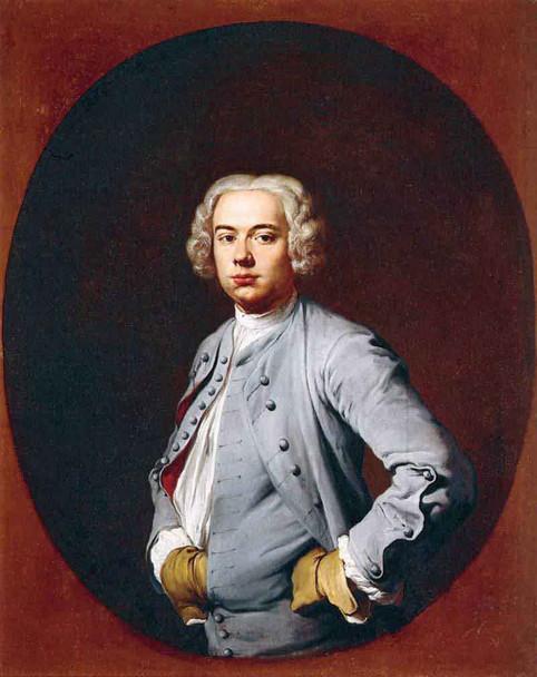 Portrait Of A Man By Giacomo Ceruti