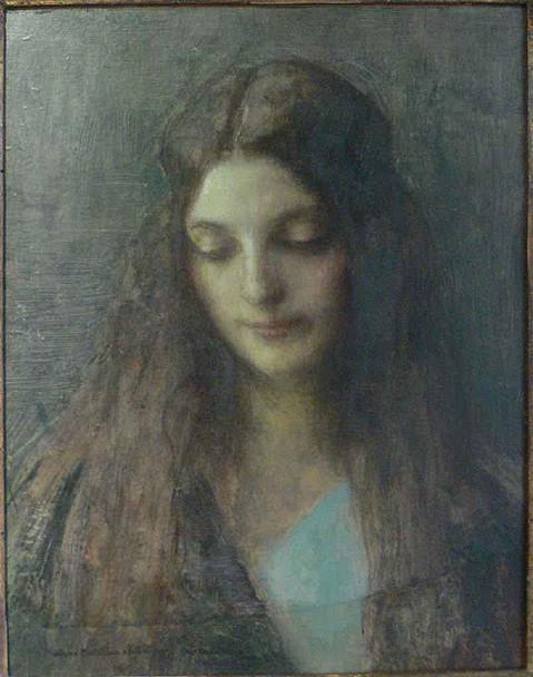 Portrait Of A Woman By Pascal Dagnan Bouveret