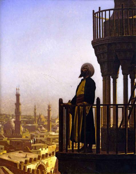 The Muezzin  By Jean Leon Gerome