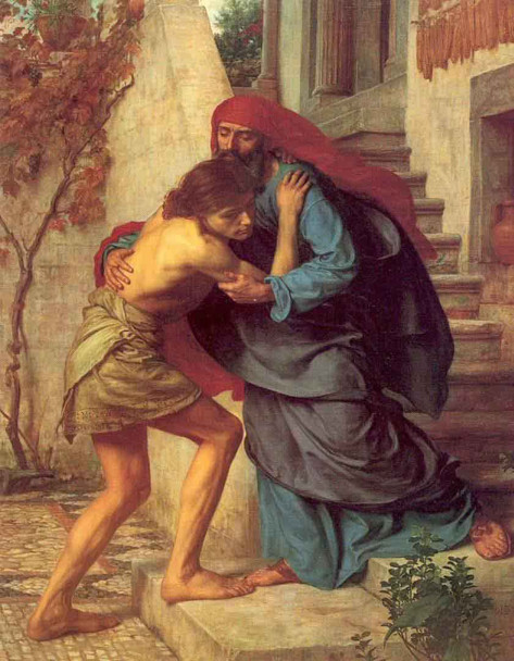 The Return Of The Prodigal Son By Sir Edward John Poynter