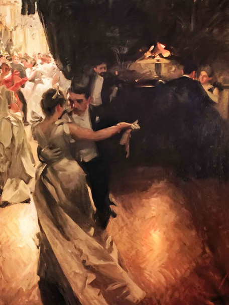 The Waltz by Anders Zorn