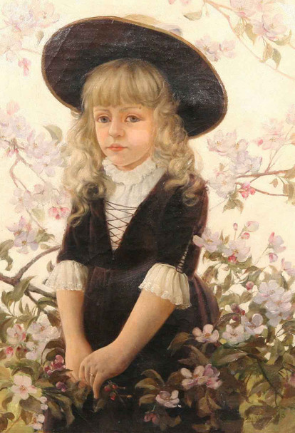Tina By Charles Courtney Curran By Charles Courtney Curran
