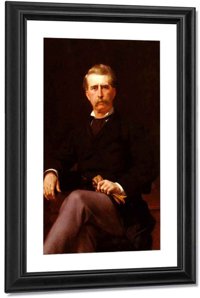 Portrait Of John William Mackay By Alexandre Cabanel