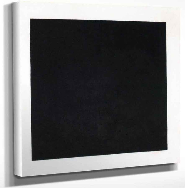 Black Square By Kasimir Malevich Art Reproduction