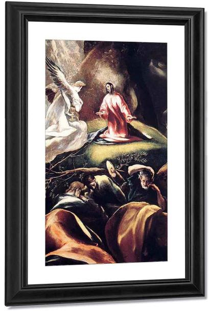The Agony In The Garden1 By El Greco By El Greco