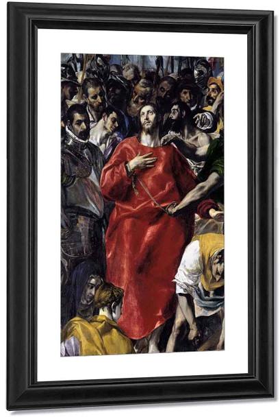 The Disrobing Of Christ 1 By El Greco By El Greco