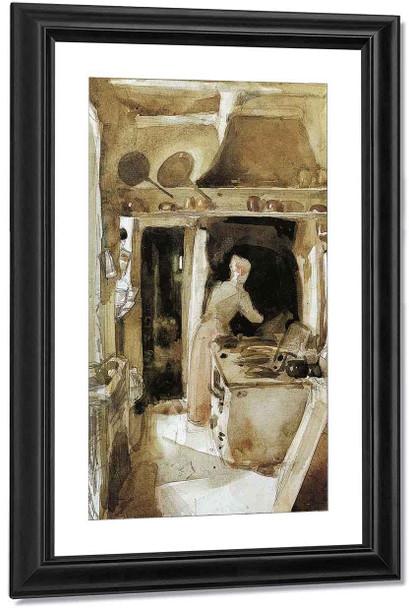 The Kitchen By James Abbott Mcneill Whistler American 1834 1903