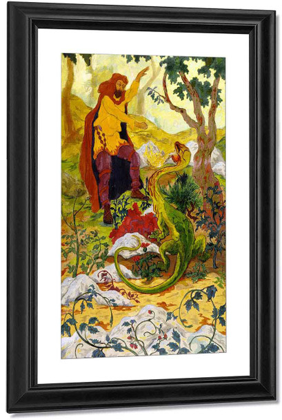The Legend Of The Hermit3 By Paul Ranson