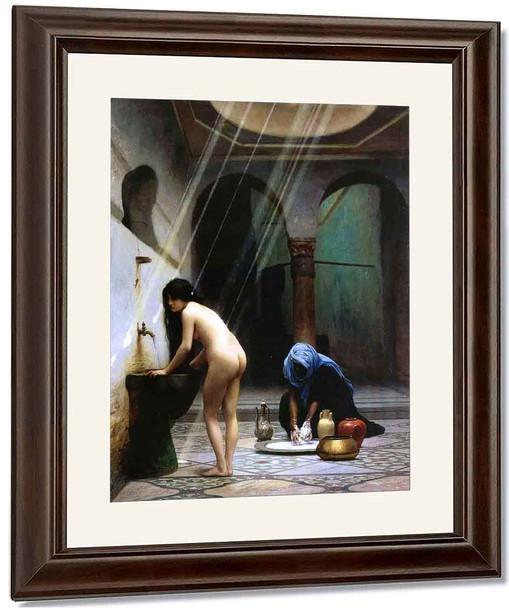 A Moorish Bath By Jean Leon Gerome By Jean Leon Gerome