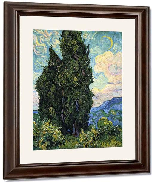 Cypresses1 By Vincent Van Gogh
