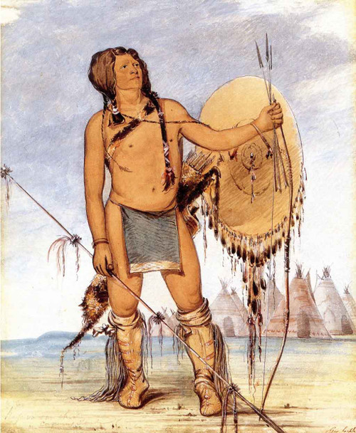 His Oo San Chees, The Little Spaniard, Comanche By George Catlin By George Catlin