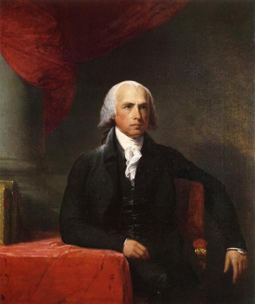 James Madison By Gilbert Stuart