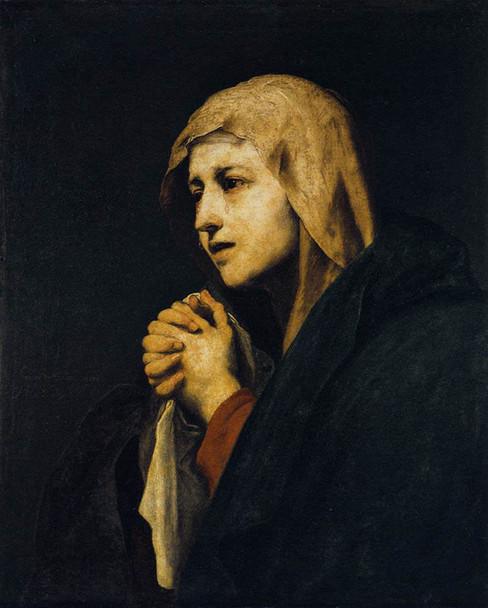 Mater Dolorosa, 1638 By Jusepe De Ribera