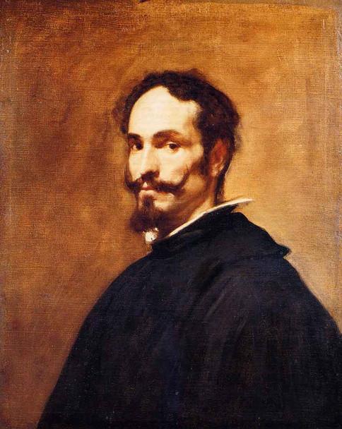 Portrait Of A Man2 By Diego Velazquez