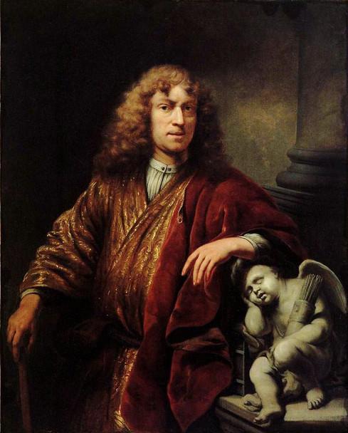 Self Portrait By Ferdinand Bol