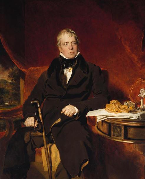 Sir Walter Scott By Sir Thomas Lawrence
