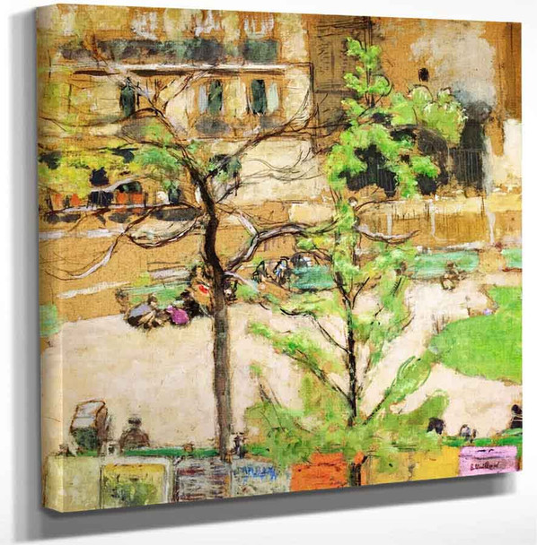 Square Berlioz By Edouard Vuillard Art Reproduction
