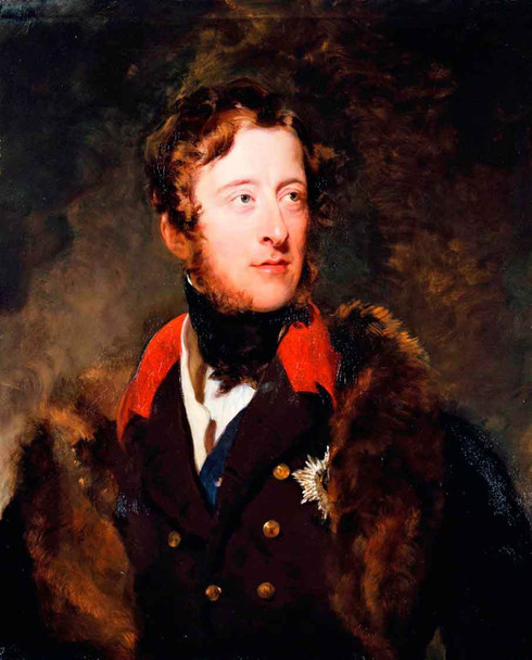William Cavendish, 6Th Duke Of Devonshire By Sir Thomas Lawrence