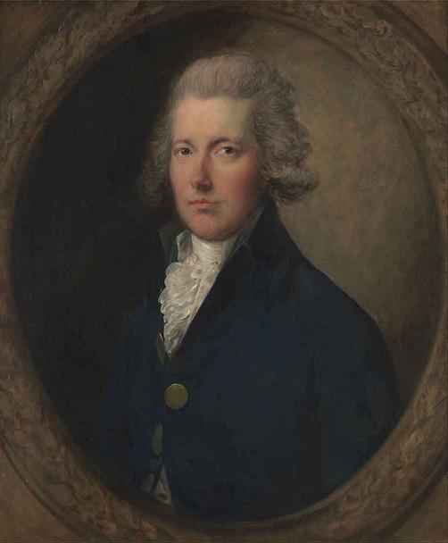 William Pitt By Thomas Gainsborough By Thomas Gainsborough