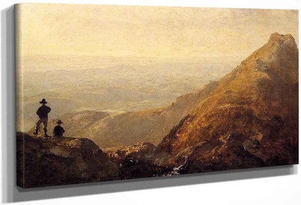 A Sketch Of Mansfield Mountain By Sanford Robinson Gifford