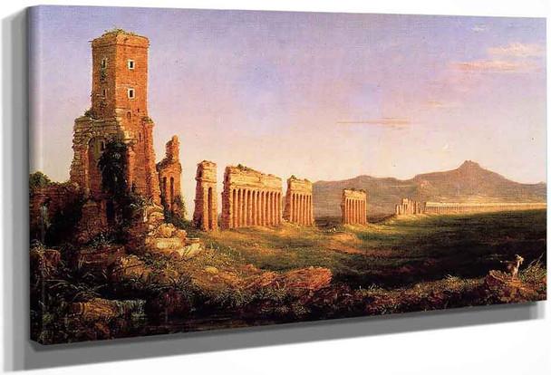 Aqueduct Near Rome By Thomas Cole By Thomas Cole