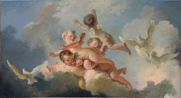 Day 1 By Jean Honore Fragonard