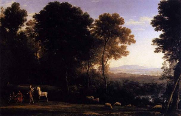 Erminia And The Shepherds By Claude Lorrain By Claude Lorrain