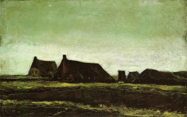Farms By Vincent Van Gogh
