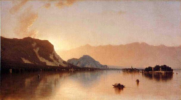 Isola Bella In Lago Maggiore By Sanford Robinson Gifford
