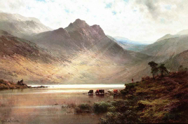 Loch Ness By Alfred De Breanski, Sr.