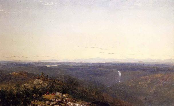 The Catskills By John Frederick Kensett By John Frederick Kensett