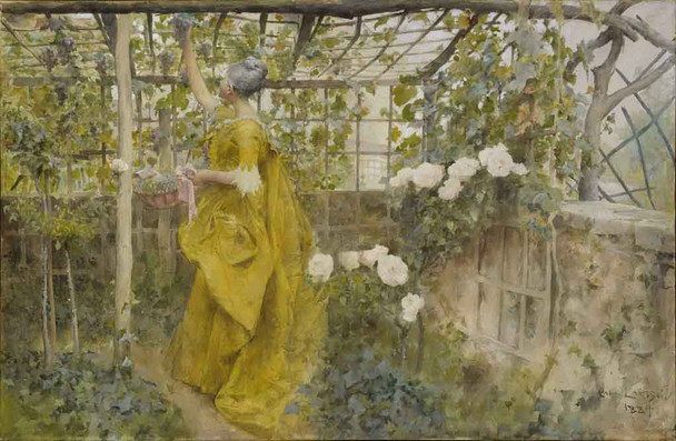 The Vine By Carl Larsson