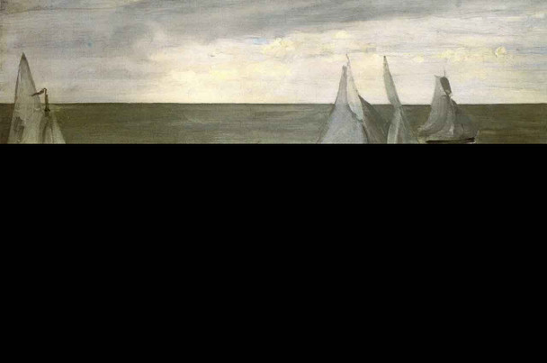 Trouville By James Abbott Mcneill Whistler American 1834 1903