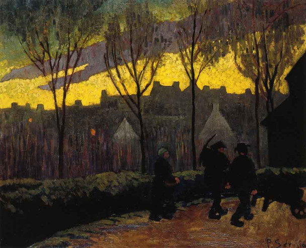 Evening By Paul Serusier(French, 1864 1927)