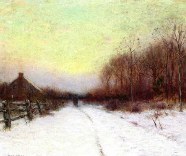 Winter Sunset1 By Bruce Crane