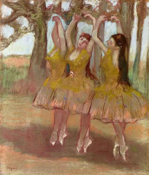 A Grecian Dance By Edgar Degas By Edgar Degas