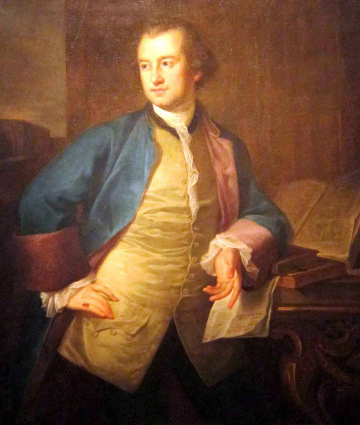 A Portrait Of John Morgan By Angelica Kauffmann By Angelica Kauffmann