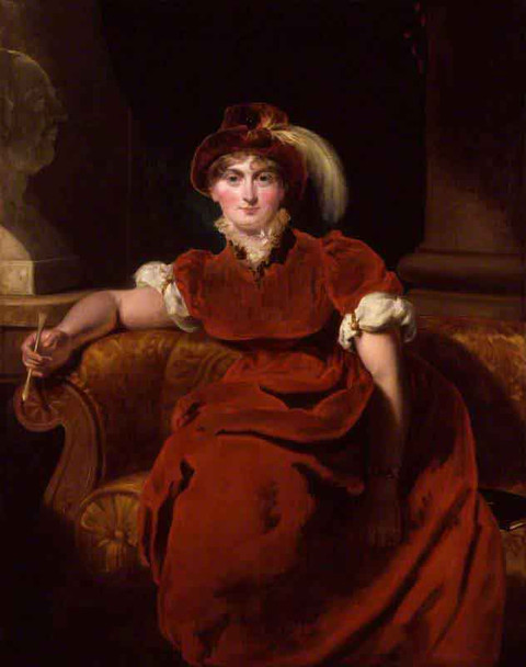 Caroline Amelia Elizabeth Of Brunswick By Sir Thomas Lawrence
