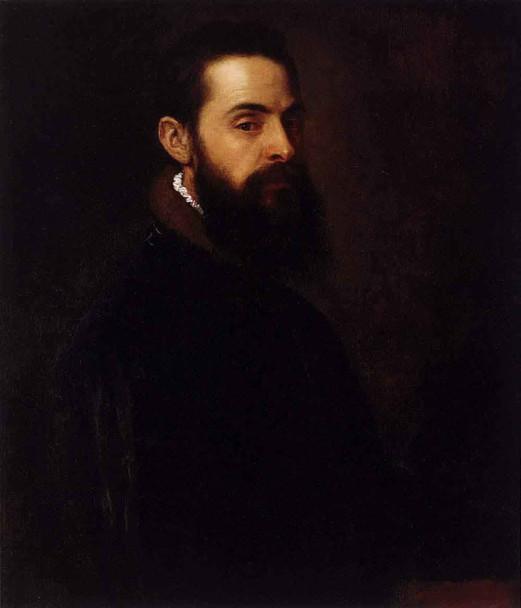 Portrait Of Antonio Anselmi By Titian