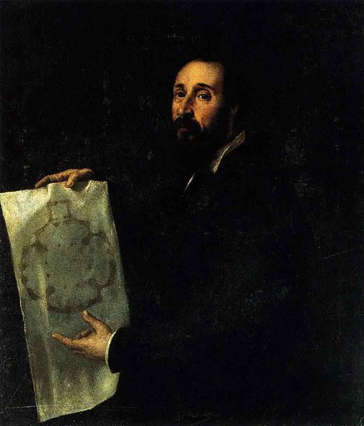 Portrait Of Giulio Romano By Titian