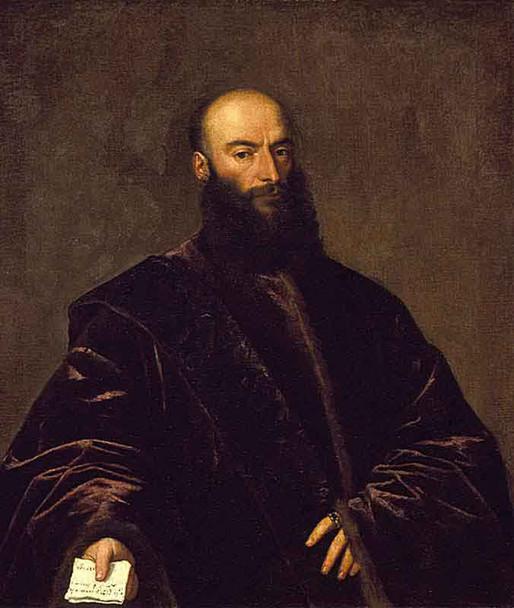Portrait Of Jacopo Dolfin By Titian