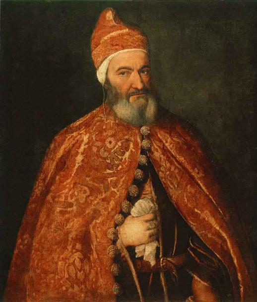 Portrait Of Marcantonio Trevisani By Titian