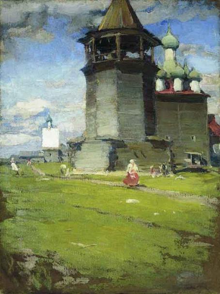Church By Abram Efimovich Arkhipov