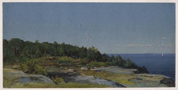 The Sakonnet River By William Trost Richards By William Trost Richards