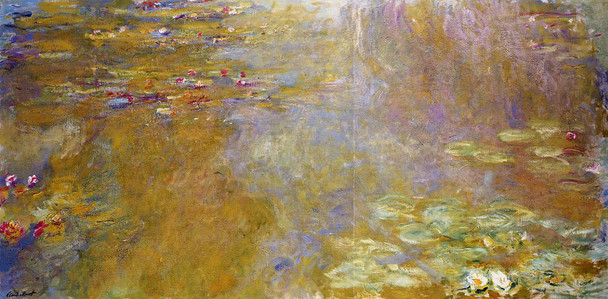 The Water Lily Pond10 By Claude Oscar Monet